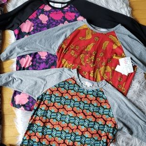 👑 LULAROE: bundle of 3 brand new tops